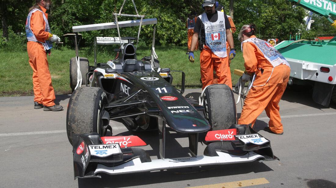 Nico Hülkenberg - Sauber - GP Kanada 2013