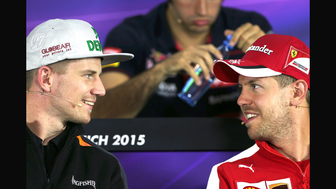 Nico Hülkenberg & Sebastian Vettel - F1 2015