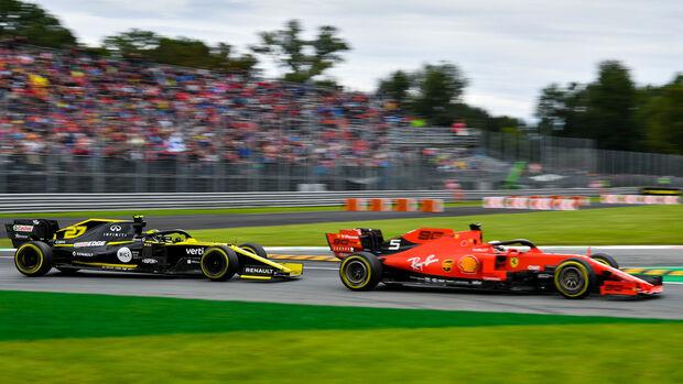 Nico Hülkenberg & Sebastian Vettel - GP Italien 2019