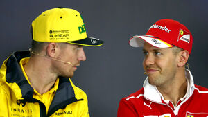 Nico Hülkenberg & Sebastian Vettel - GP Ungarn 2017