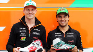 Nico Hülkenberg & Sergio Perez - GP Österreich 2014