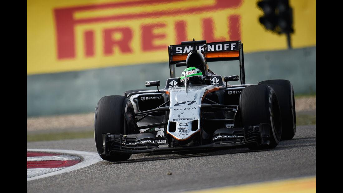 Nico Hülkenberg - Statistik - GP China 2016