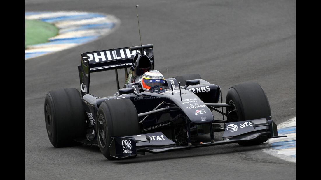 Nico Hülkenberg - Williams FW31 - Test - Jerez - 2009