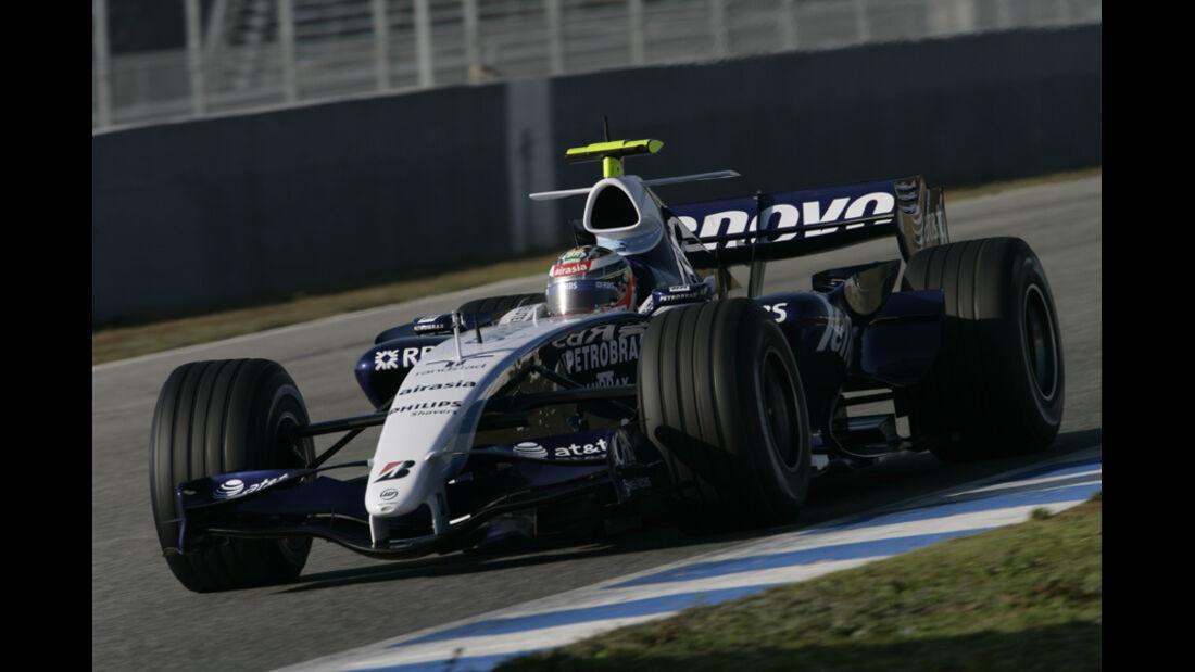 Nico Hülkenberg, Williams-Testfahrer