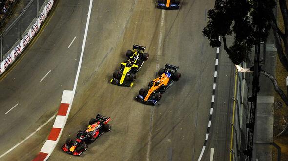 Nico Hülkenberg vs. Carlos Sainz - GP Singapur 2019