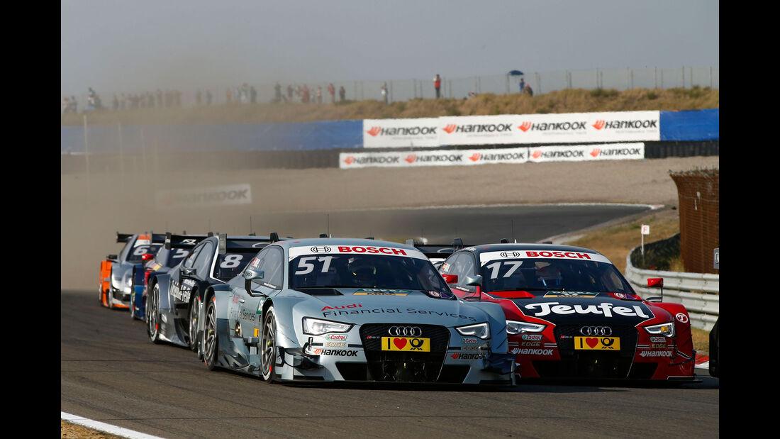 Nico Müller - Miguel Molina - Audi - DTM - Zandvoort - Samstag - 11.7.2015