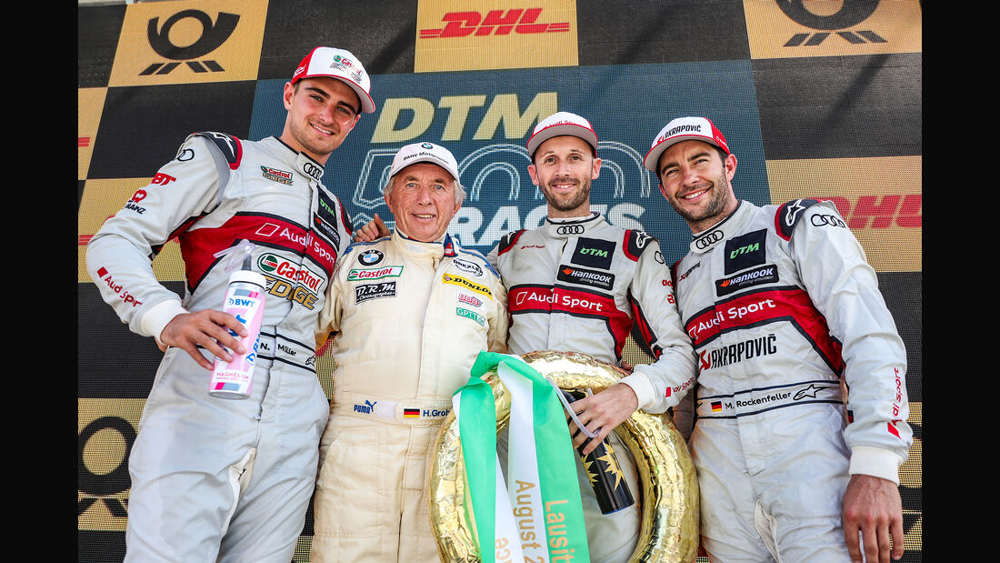 Nico Müller - Rene Rast - Mike Rockenfeller - DTM - Lausitzring