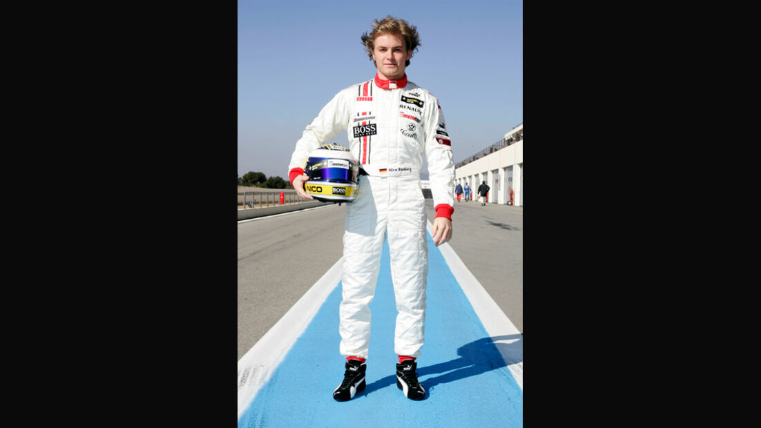 Nico Rosberg 2005 GP2