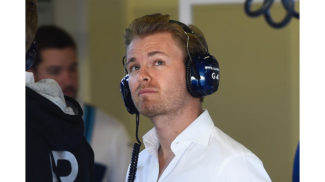 Nico Rosberg - Abu Dhabi - Test 1 - 28. November 2017