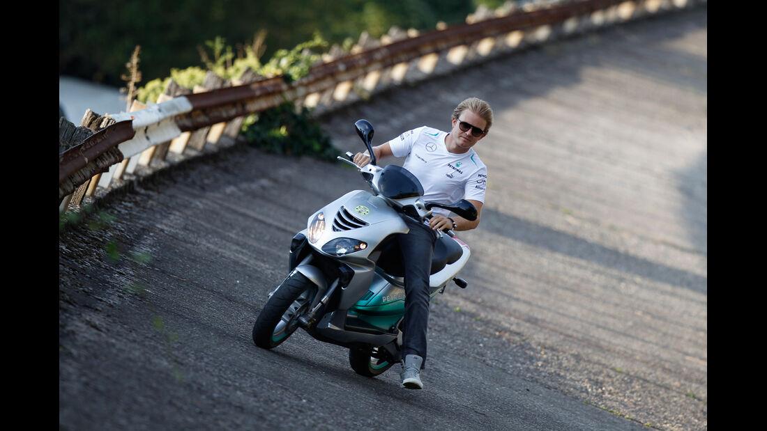 Nico Rosberg - Bikes der F1-Piloten