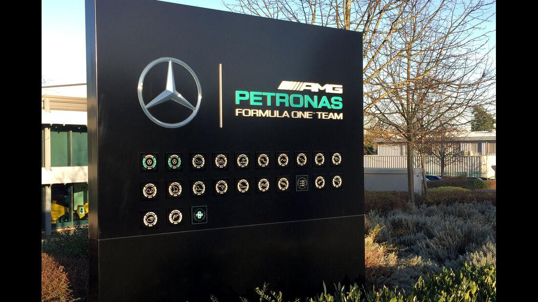 Nico Rosberg - Brackley 2016