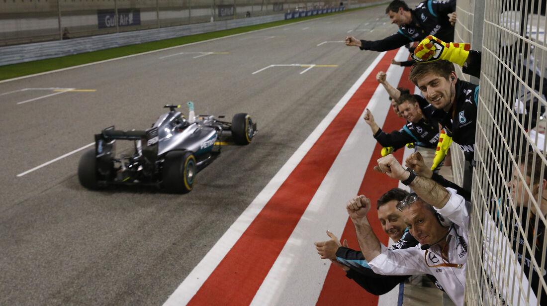 Nico Rosberg - Crazy Stats - GP Bahrain 2016
