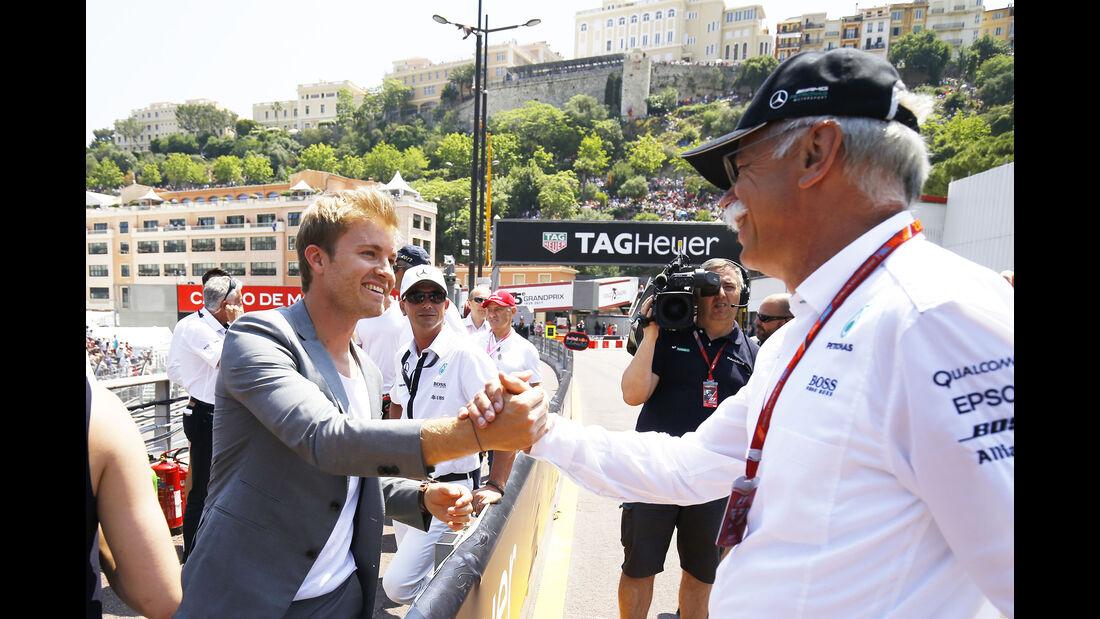 Nico Rosberg & Dieter Zetsche - Formel 1 - GP Monaco 2017