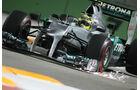 Nico Rosberg F1 Singapur 2012