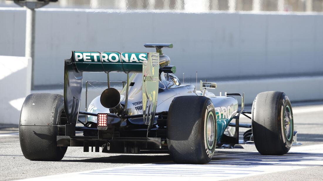 Nico Rosberg - F1-Test Barcelona 2014