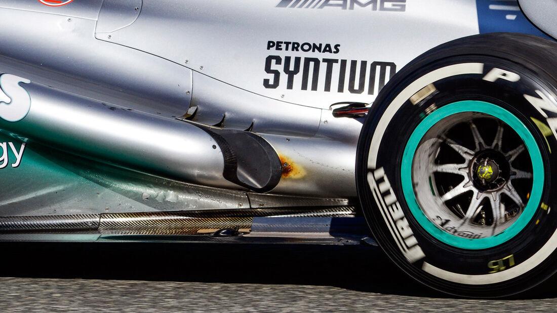 Nico Rosberg - F1-Test Jerez 2013