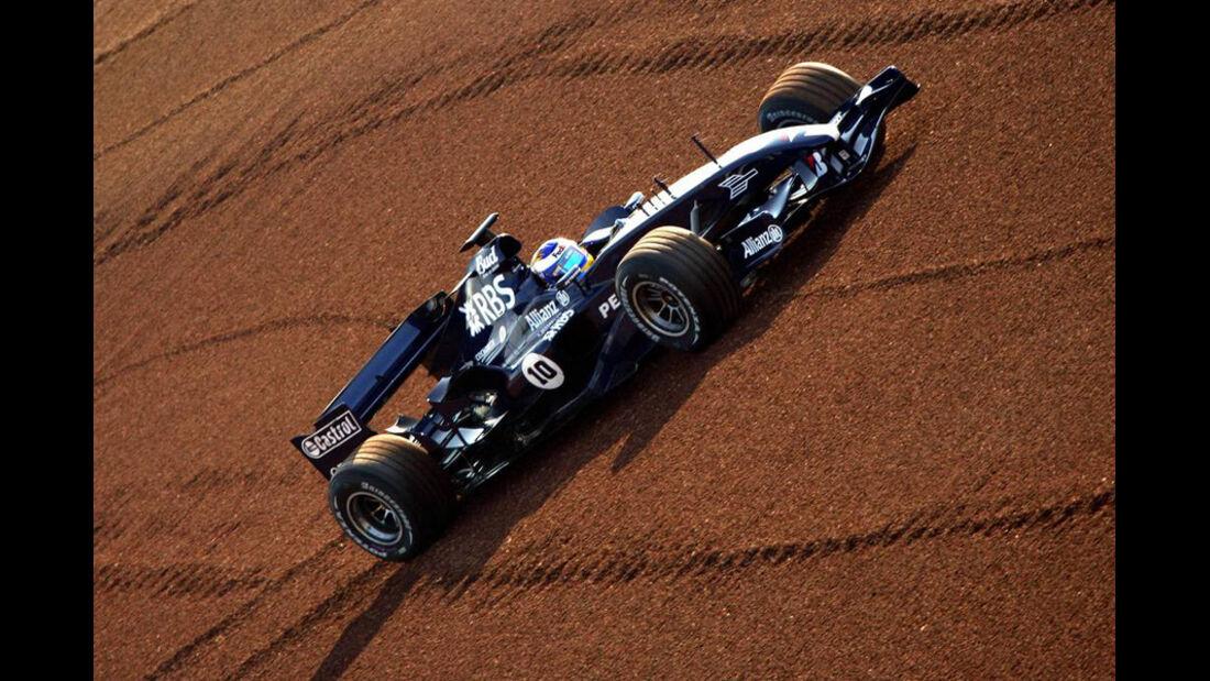 Nico Rosberg F1-Test Williams