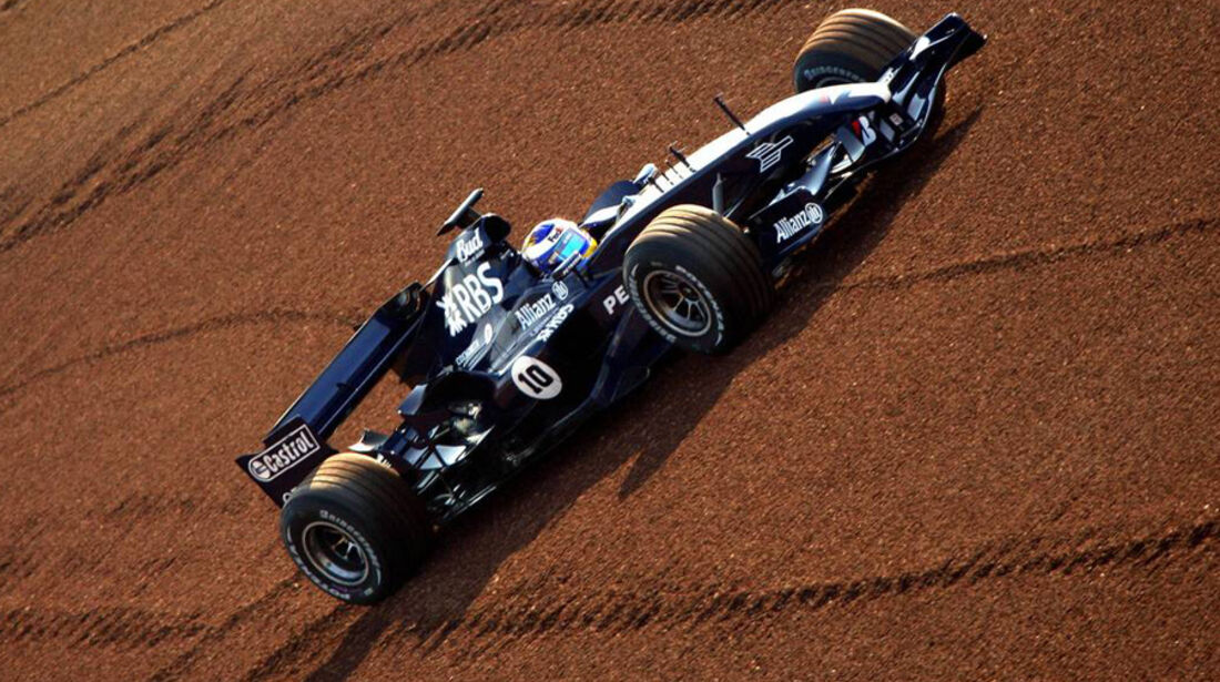 Nico Rosberg F1-Test Williams