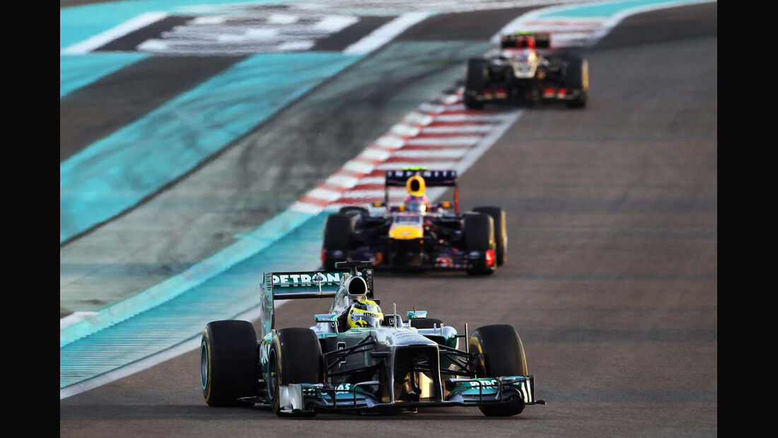 Nico Rosberg - Formel 1 - GP Abu Dhabi - 03. November 2013