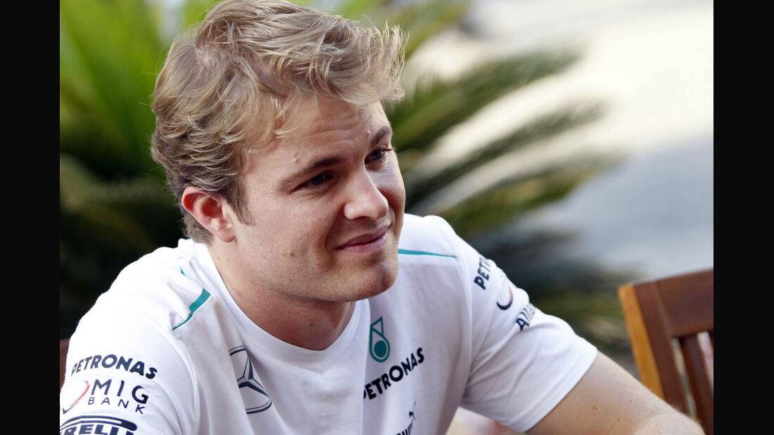 Nico Rosberg Formel 1 GP Abu Dhabi 2013