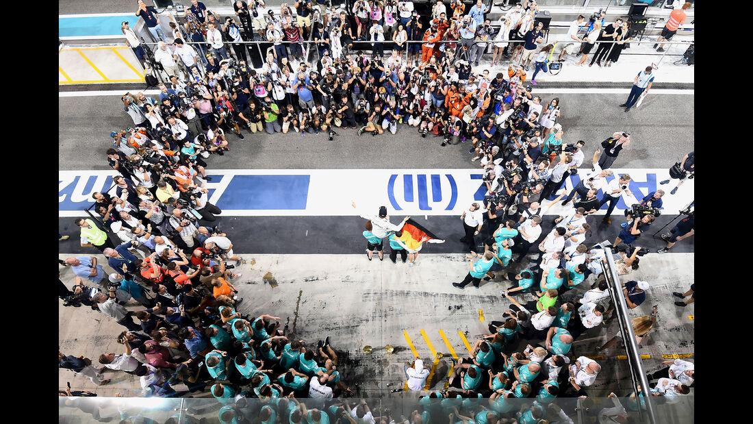 Nico Rosberg - Formel 1 - GP Abu Dhabi 2016