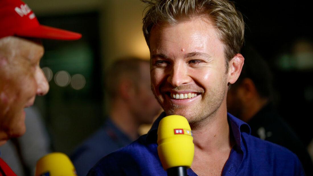 Nico Rosberg - Formel 1 - GP Abu Dhabi 2017