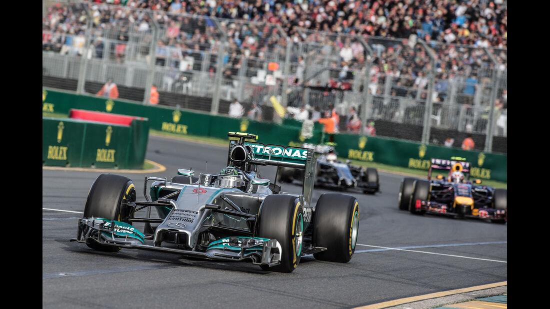 Nico Rosberg - Formel 1 - GP Australien 2014 - Danis Bilderkiste