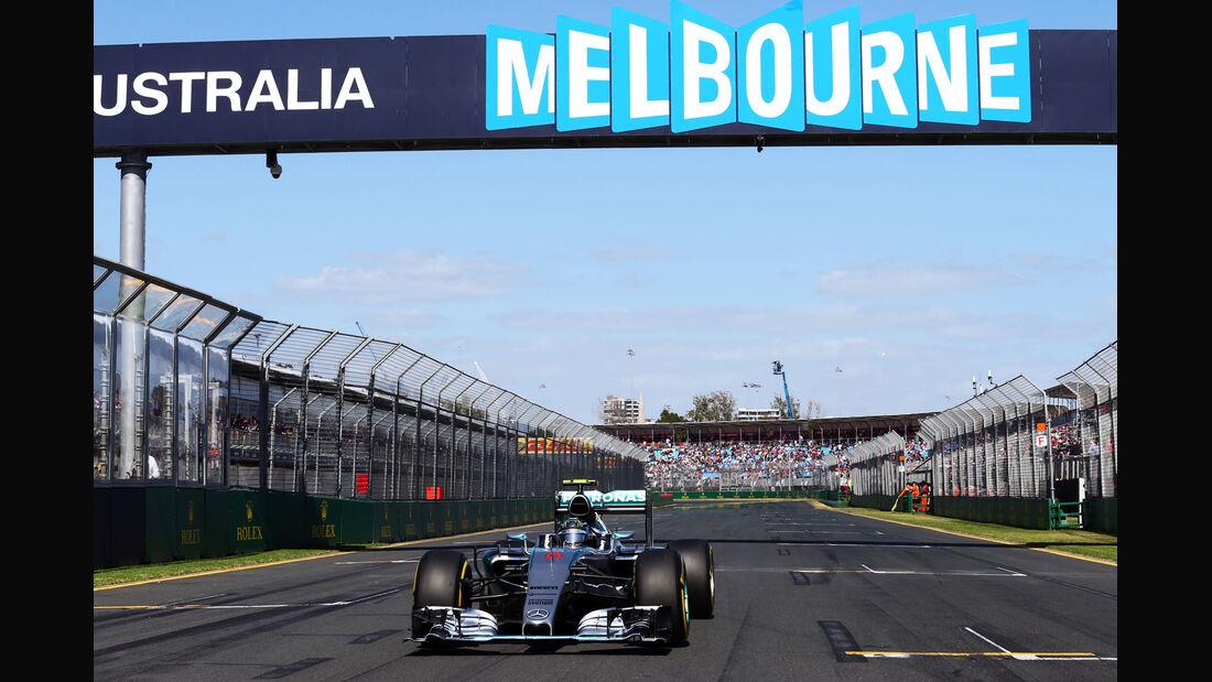 Nico Rosberg - Formel 1 - GP Australien 2015