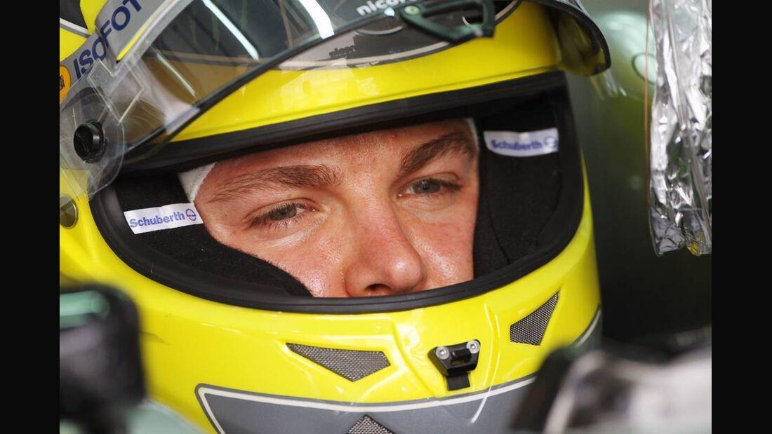 Nico Rosberg - Formel 1 - GP Bahrain - 21. April 2012