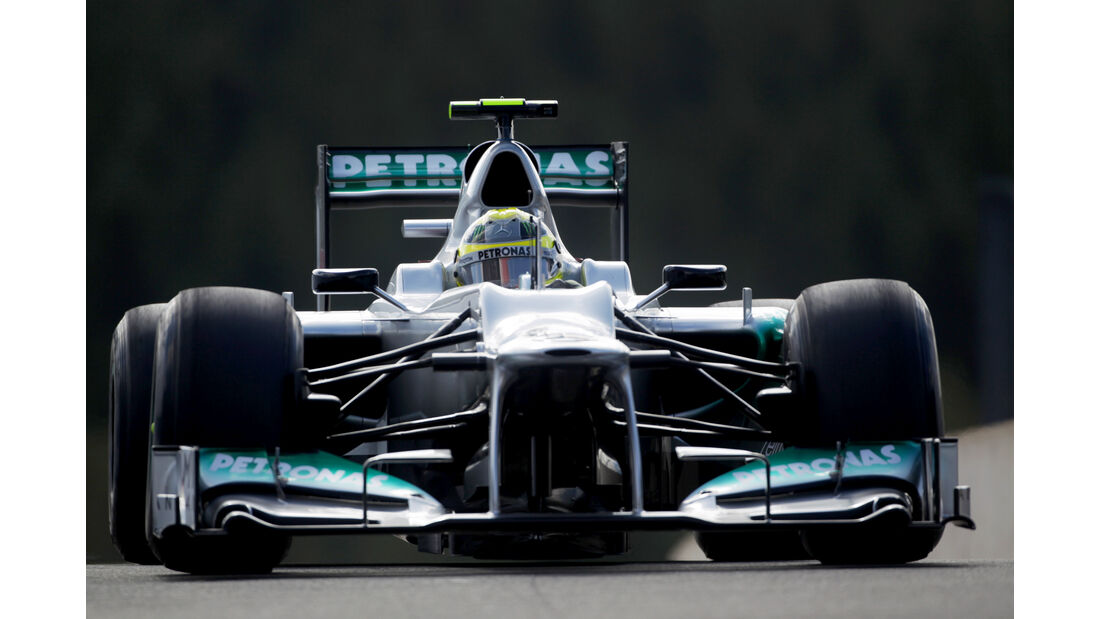 Nico Rosberg - Formel 1 - GP Belgien 2012