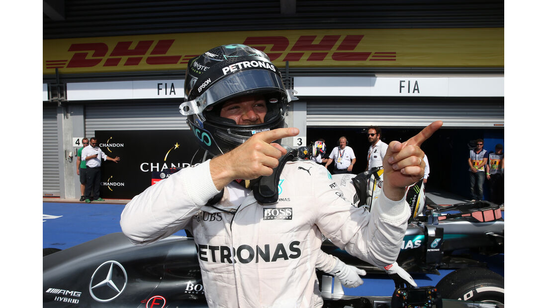 Nico Rosberg - Formel 1 - GP Belgien 2016