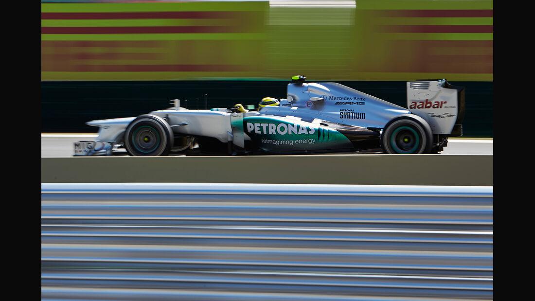 Nico Rosberg Formel 1 GP Brasilien 2012