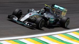 Nico Rosberg - Formel 1 - GP Brasilien 2015