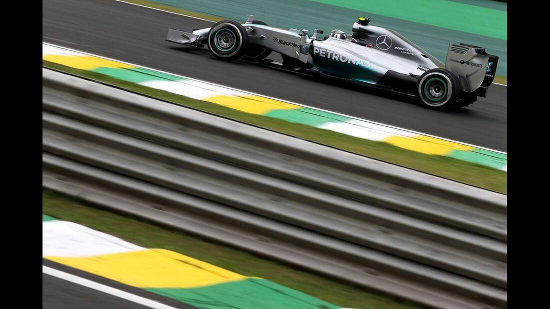 Nico Rosberg - Formel 1 - GP Brasilien- 7. November 2014