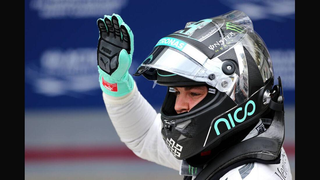 Nico Rosberg - Formel 1 - GP Brasilien - 8. November 2014