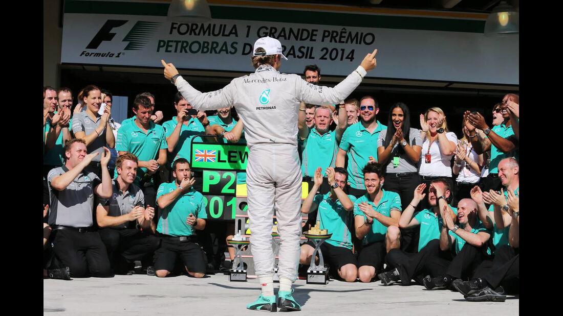 Nico Rosberg - Formel 1 - GP Brasilien - 9. November 2014