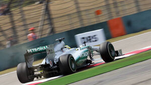 Nico Rosberg - Formel 1 - GP China - 12. April 2013