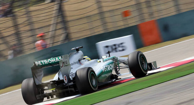 Nico Rosberg - Formel 1 - GP China - 12. April 2013