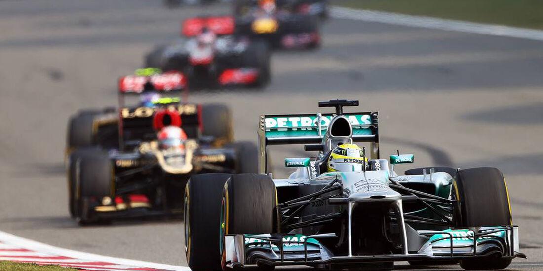 Nico Rosberg - Formel 1 - GP China - 14. April 2013