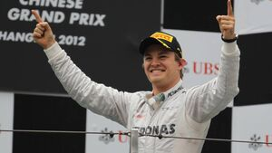 Nico Rosberg  - Formel 1 - GP China - 15. April 2012