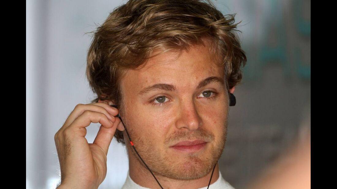 Nico Rosberg Formel 1 GP China 2011