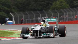 Nico Rosberg Formel 1 GP England 2013
