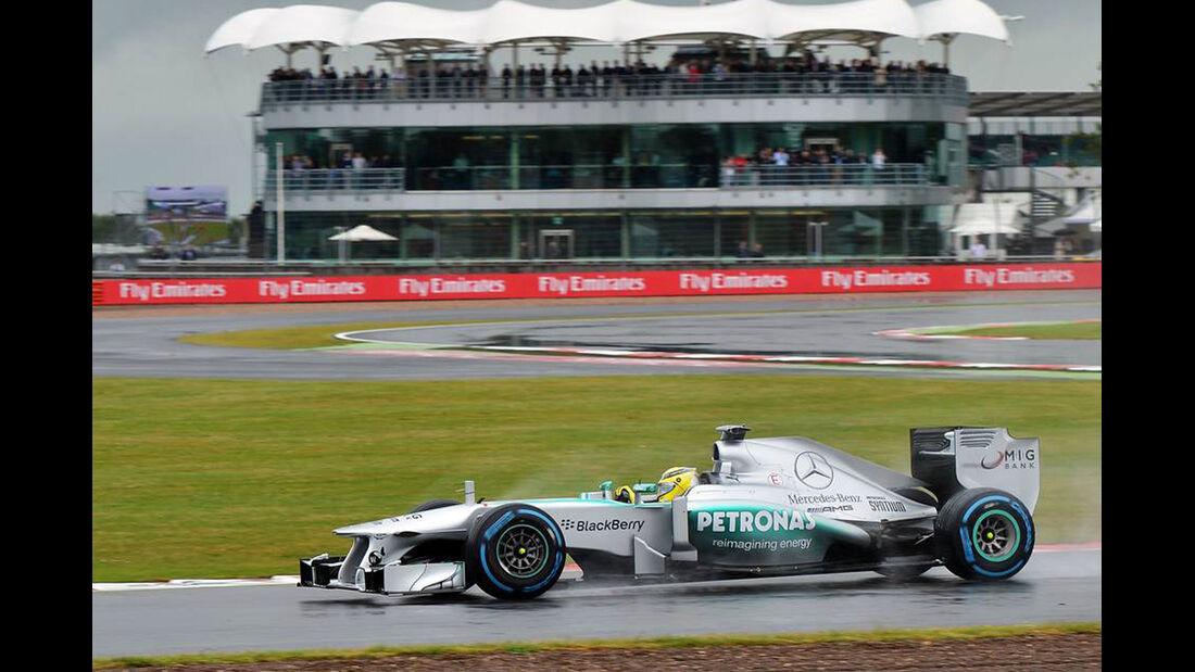 Nico Rosberg - Formel 1 - GP England - 28. Juni 2013