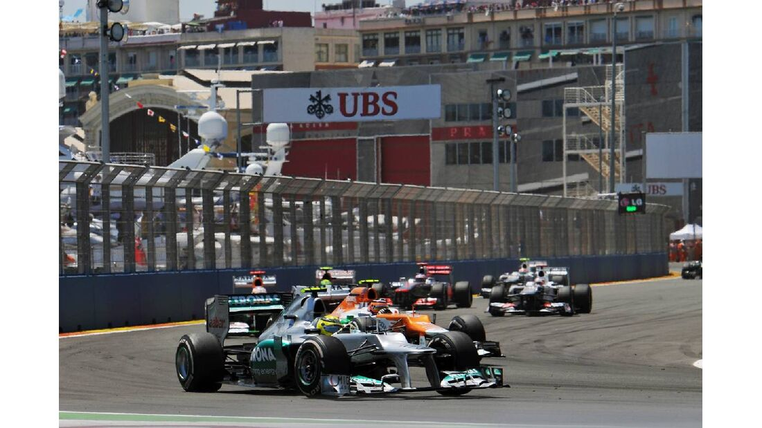 Nico Rosberg  - Formel 1 - GP Europa - 24. Juni 2012