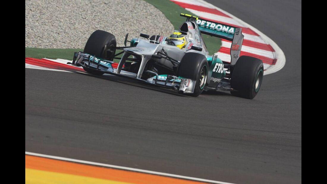 Nico Rosberg - Formel 1 - GP Indien - 26. Oktober 2012