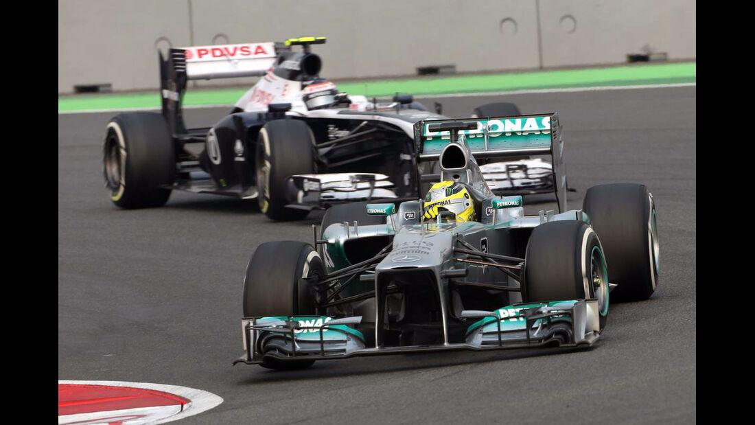 Nico Rosberg - Formel 1 - GP Indien - 27. Oktober 2013