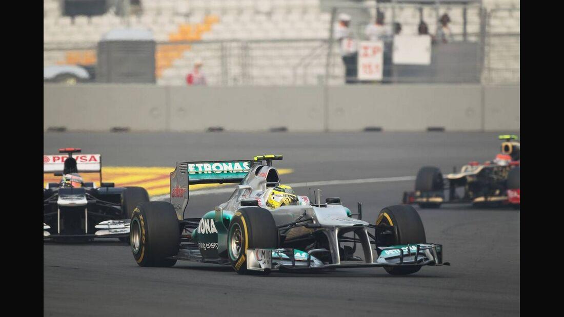 Nico Rosberg - Formel 1 - GP Indien - 28. Oktober 2012