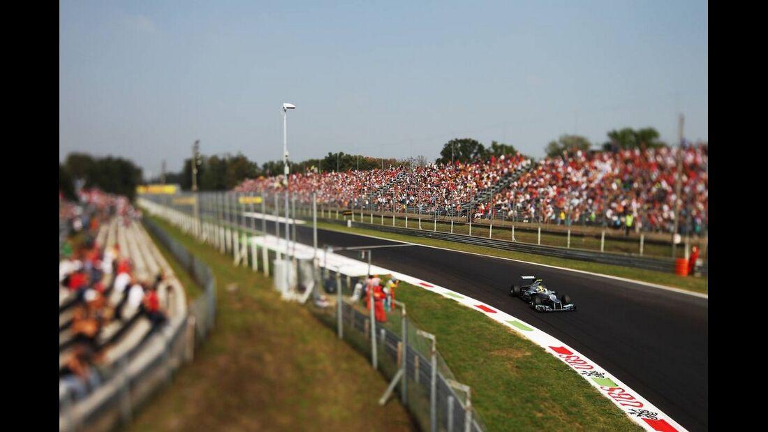 Nico Rosberg - Formel 1 - GP Italien - 08. September 2012