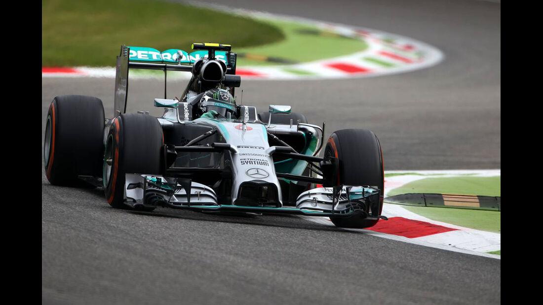 Nico Rosberg   - Formel 1 - GP Italien - 5. September 2014