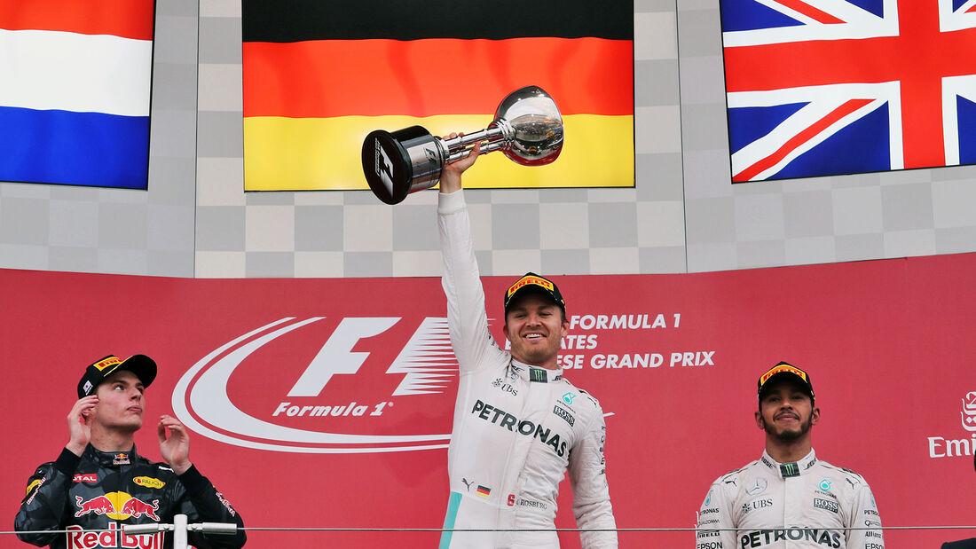 Nico Rosberg - Formel 1 - GP Japan 2016